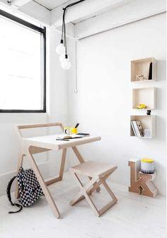 un bureau pour les plus petits - design rafakid