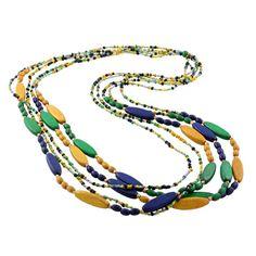 Blue Scarab necklace www.bluescarab.com.au Brazilian Rainforest, Bangles, Bracelets, Beaded Necklace, Jewellery, Beaded Collar, Jewels, Pearl Necklace, Schmuck