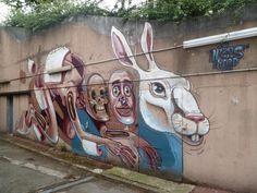Nychos the Weird - Vitry sur Seine, France graffiti