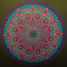 Kaleido Color met stabilo point 88 gekleurd!