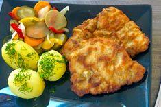 Schabowe inaczej czyli przepis na soczyste i kruche kotlety - Blog z apetytem Snack Recipes, Snacks, Blog, Eggs, Meat, Chicken, Breakfast, Tapas Food, Beef