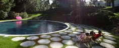 Love this garden and pond! by Terrain Landscape Architecture