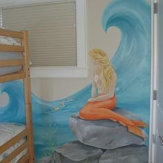Kids Girls +mermaid +rooms Design, Pictures, Remodel, Decor and Ideas