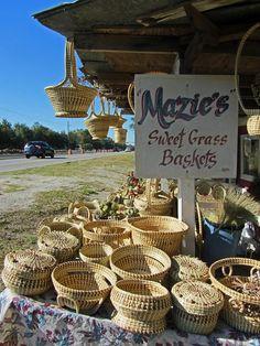 Maize Brown's Sweet Grass Baskets (Mt. Pleasant, SC)