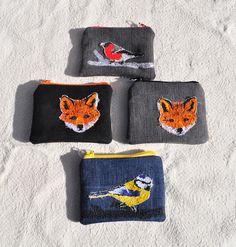 Av Susanne - freehand machine embroidered purses