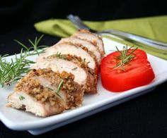 Rosemary Walnut Crusted Chicken - Gluten Free, Soy Free, Corn Free, Dairy Free - Cut recipe in and used dried rosemary instead of full amount of fresh rosemary and olive oil instead of walnut oil Passover Recipes, Gf Recipes, Dairy Free Recipes, Low Carb Recipes, Real Food Recipes, Chicken Recipes, Cooking Recipes, Healthy Recipes, Healthy Food