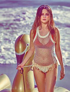 Hotter Than Ever: Selena Gomez by Steven Klein for W Magazine March 2016 - Louis Vuitton Spring 2016, Miu Miu tiara