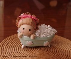 Baby taking bath - quilled -I'm working on something similar to this one. Hope to have it done soon-ish