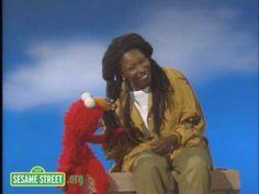 Sesame Street: Whoopi's Skin and Elmo's Fur - YouTube