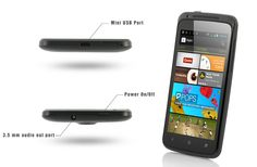 """#Android Dual Core 4.0 Phone """"Duo"""" - 4.5 Inch Screen, 1GHz CPU, Black"""