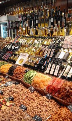 La Boqueria Food Market, Barcelona