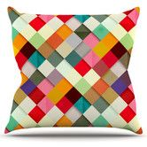 Found it at AllModern - <strong>KESS InHouse</strong> Pass This On Throw Pillow up to 26x26 many sizes