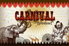 old carnival | carnival brush, circus brushes photoshop, photoshop circus, download ...