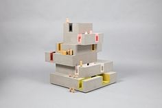 Doll's houses: DUGGAN MORRIS ARCHITECTSIn collaboration with Unit 22 Modelmakers