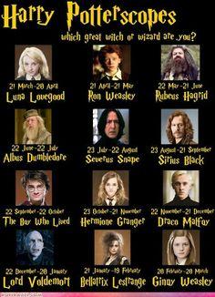 I'm a hermione!!!!!