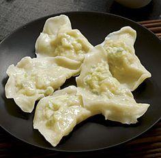 Chinese Egg and Scallion Dumplings (Jiao Zi) by Thy Tran - FineCooking.com
