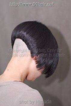 Shaved Bob, Shaved Nape, Short Bob Hairstyles, Trendy Hairstyles, Bob Haircuts, Angled Bobs, Stacked Bobs, Sexy Bob Haircut, Short Hair Cuts