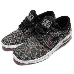 best service 936aa 61317 Nike Stefan Janoski Max PRM Seat Cover Aztec Geometry Mens Shoes 807497-003