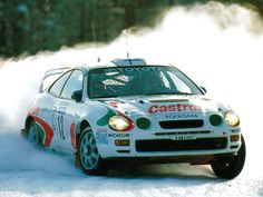 Toyota Celica GT4 rally car