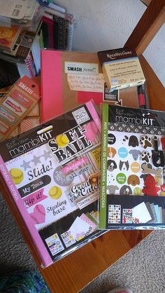 Got the Smash Journal as well as a couple of small scrap kits.gonna have me some fun later! Smash Book, Have Some Fun, Happy Planner, Art Journaling, Journals, Scrapbooking, Couple, Pets, Frases