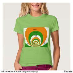 #India HAKUNA MATATA T-Shirt