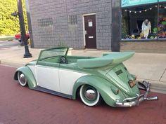 2 tone Beetle convertible