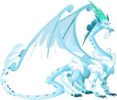Dragon City Blizzard Dragon Adult