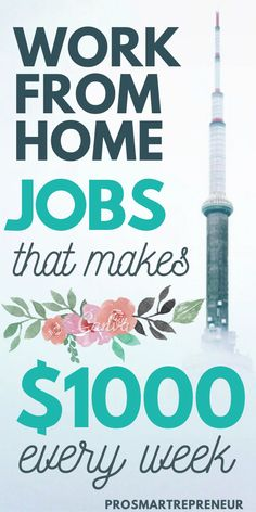 You don't have to have a job just to make full-time income. These work from home jobs are high paying and in demand. Plus, you don't need experience to qualify for these jobs. Start making full time income by working from home with one of these jobs. Ways To Earn Money, Earn Money From Home, Earn Money Online, Way To Make Money, Money Saving Tips, Money Fast, Money Tips, Money Week, Money Plan