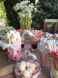 #wedding #rural #vintage #candybar #mesadulce