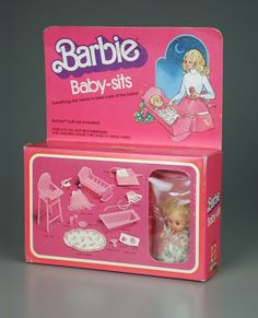 1976 Barbie Baby Sits set. I still have the baby and some of the accessories.