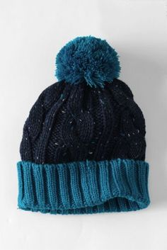 c845e7f2c7db6 Kids  Donegal Cable Knit Hat from Lands  End