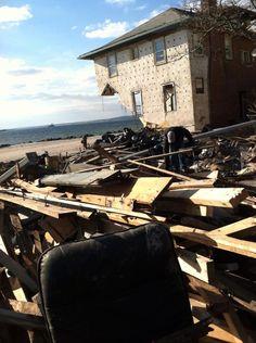 Sandy's devastation...