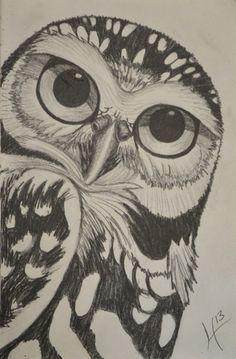 Owl Art http://society6.com/H_Art/Owl-2ee_Print#1=45