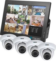 Keep your home and business safe with surveillance and monitoring gear. This article will help you figure out which type of security camera will best suit your needs. Home Security Alarm, Best Home Security, Wireless Home Security Systems, Security Cameras For Home, Safety And Security, Ip Camera System, Security Camera System, Security Surveillance, Surveillance System