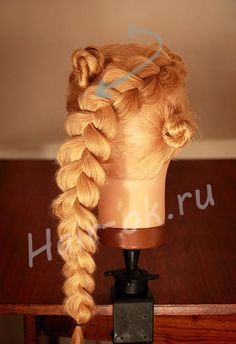как сплести косу восьмерку Hair Beauty, Hairstyle Tutorials, Hair Styles, Creative, Facebook, Videos, Decor, Hairdos, Hair