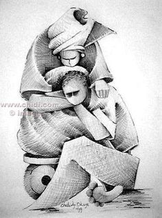 Abstract Pencil Drawings | Pencil and Color Pencil pieces by Amy ...