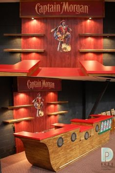 1000 Images About My Bar On Pinterest Captain Morgan