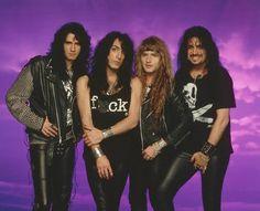 Revenge Line-up: [L to R] Bruce Kulick, Paul Stanley, Eric Singer, Gene Simmons