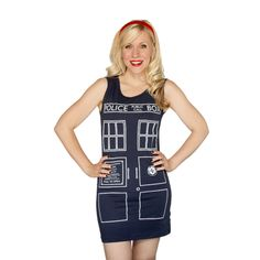 Outline Tardis Dress
