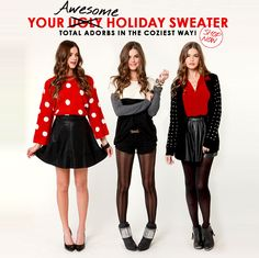 What would the holiday season be without sweaters!?! #lulusholiday Your awesome holiday sweater shopping destination