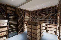 Perfect wine cellar