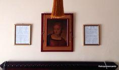 Enmarca una carta... http://retroyconencanto.blogspot.com.es/2015/12/cartas-manuscritas-enmarcadas-decoracion-interiorismo.html
