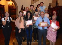 Pendley Manor Hotel Murder Mystery Winners 8th May 2015 with Moneypenny Productions