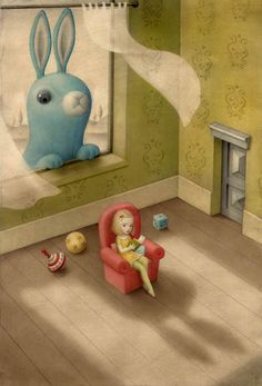Nicoletta Ceccoli, Peeping Tom - Sweet & Low Exhibition