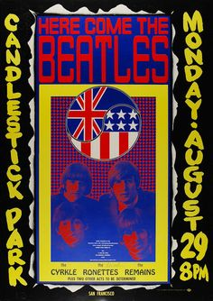 BEATLES 60 S POSTER