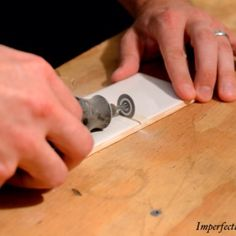 How To Cut A Hole In Tile Tile And Grout Pinterest Plumbing - Cutting holes in tile for plumbing