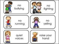 by Teach At Daycare Preschool Rules, Preschool Classroom, Preschool Activities, Preschool Behavior, Preschool Family, Social Skills Activities, Educational Activities, Classroom Behavior, Classroom Management