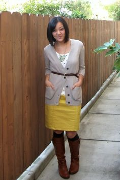 Cute color combo!    Putting Me Together: Building a Remixable Wardrobe, Part 1: Reimagining Clothes