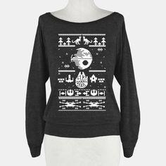 Scifi Spaceship Christmas | T-Shirts, Tank Tops, Sweatshirts and Hoodies | HUMAN - soooo coooool