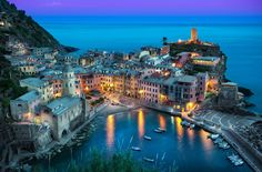 The Beautiful Vernazza - Cinque Terre, Italy || Photography by Elia Locardi www.blamethemonkey.com